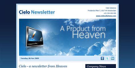Html Email Newsletter Templates Newsletter Html Template