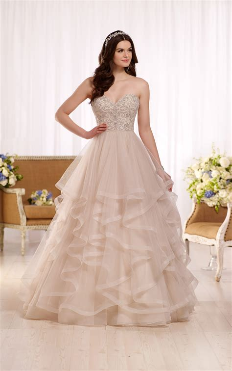 Wedding Gowns by Princess Gown Wedding Dress With Sweetheart Bodice