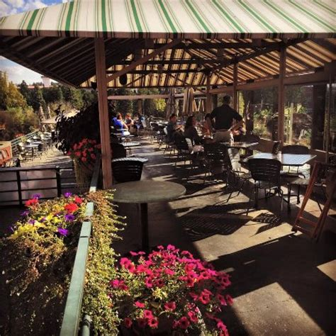 covered outdoor seating covered patio seating picture of clinkerdagger spokane
