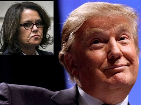 Donald Receives A Pair Of Rosie by Rosie O Donnell S Caign A Nightmare