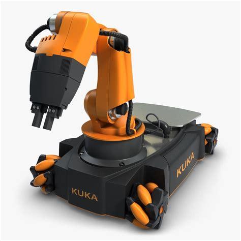 film robot mobil 3ds max mobile robot arm youbot