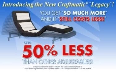 craftmatic adjustable beds consumeraffairscom rated