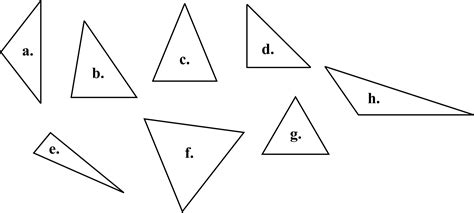Isosceles And Equilateral Triangles Worksheet by Equilateral And Isosceles Triangles