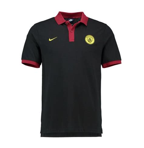 Polo Shirt Manchester City P02 2016 2017 city nike polo shirt black for only 163 36 38 at merchandisingplaza uk