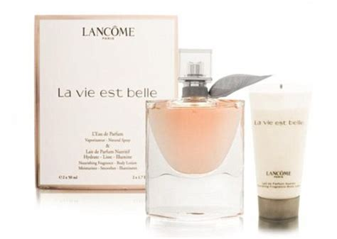 Lancome La Vie Est Wash duty free prices can sometimes be higher than on the high