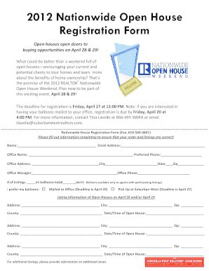 joystyle biz open house guest registration form template