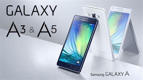 Samsung A3 A4 A5 samsung galaxy a3 y galaxy a5 caracter 237 sticas y precios