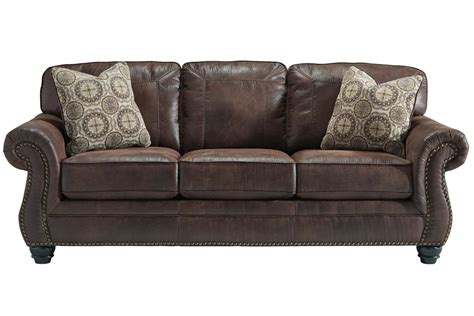breville sofa with nailhead trim