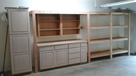2x4 Kitchen Cabinets 1000 Images About Garage Workshop Tutorials On Spray Paint Cabinets Garage Shelf