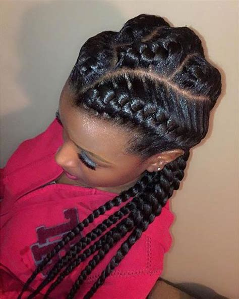 braided to the scalp hairstyles for black people 31 goddess braids hairstyles for black women stayglam