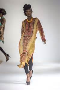 spice attends africa fashion week new york s 2014 runway