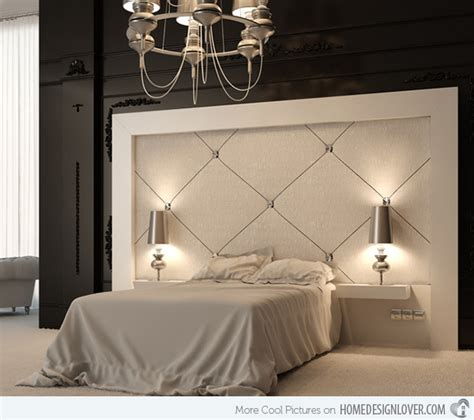bed designs with cushioned headboard customize your bedroom with 15 upholstered headboard