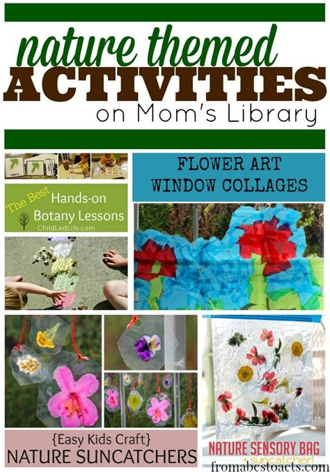 nature themed events nature themed activities for kids on mom s library from
