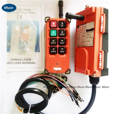 1 Receiver 10 Transmitter 3 Button 1 transmitter 1 receiver 8 buttons hoist crane remote