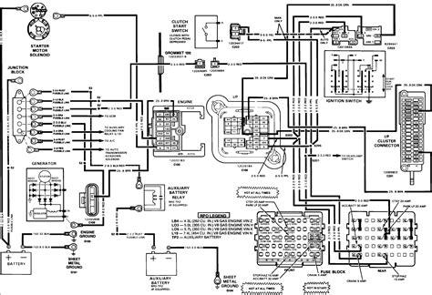 92 chevy 350 tbi starter wiring diagram get free image