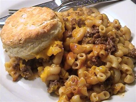 hamburger casserole recipe food com