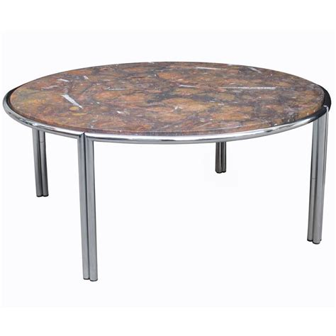 fossil coffee table italian modernist cocktail table with fossil marble top