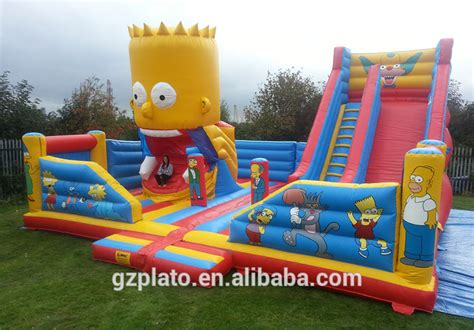 House Plans With Pools by Used Inflatable Water Slide For Sale Inflatable Bouncy