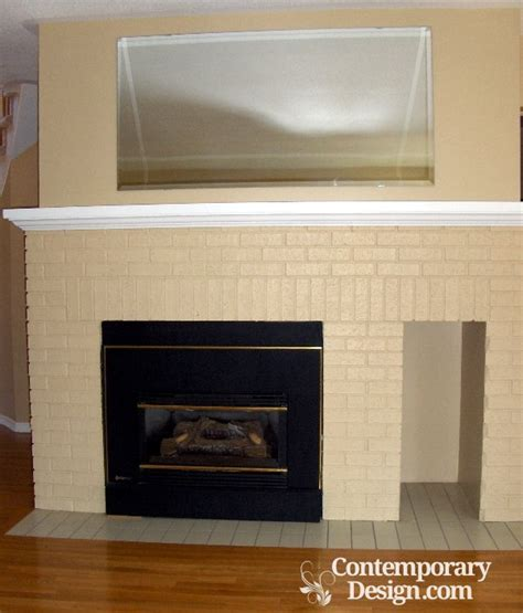 Best Paint For Fireplace Brick by Best Color To Paint Brick Fireplace