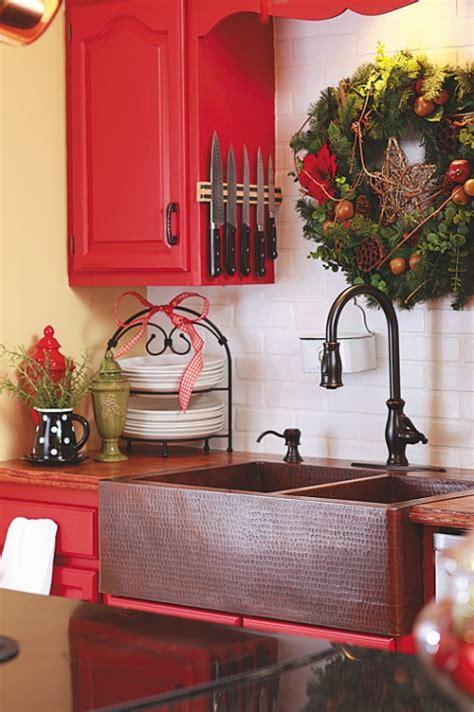 Red Kitchen Backsplash Ideas la decoracion de fin de a 241 o en la cocina