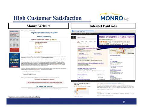 lapelusa customer satisfaction review ratings monro muffler brake inc 2017 q2 results earnings call slides monro muffler brake inc