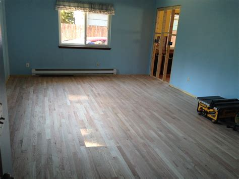 Stained Oak Floors by Provincial Wood Floor Stain Seattle General Contractor