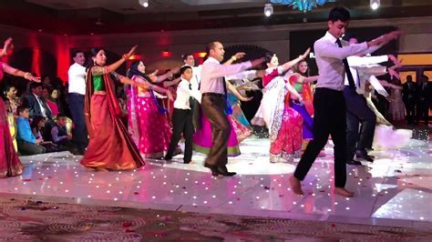 Indian Wedding Dance by Bride's Family   YouTube