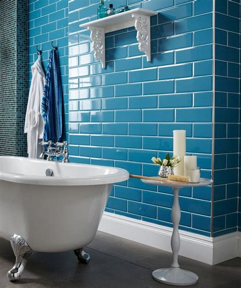 Blue Tile Bathroom Ideas 25 Best Ideas About Blue Tiles On Pinterest Blue Bathroom Interior Blue Bathroom Tiles And