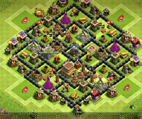 best th8 base 8 best th8 hybrid bases anti everything anti gowipe anti