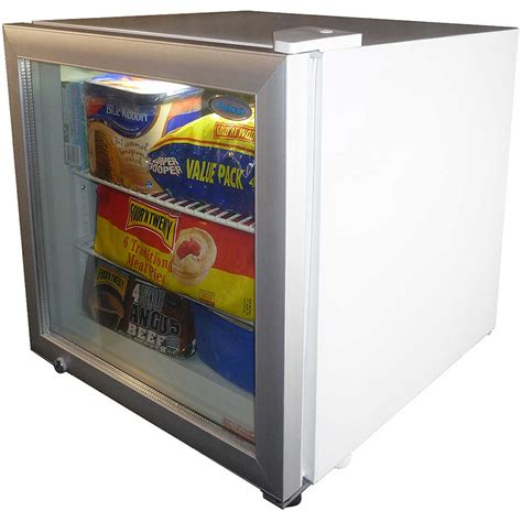 Freezer Mini mini glass door bar freezer 50litre freezer great for