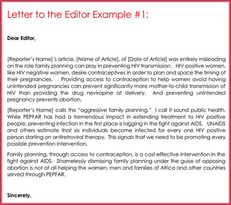 editore le lettere letter to the editor template for students letter to the