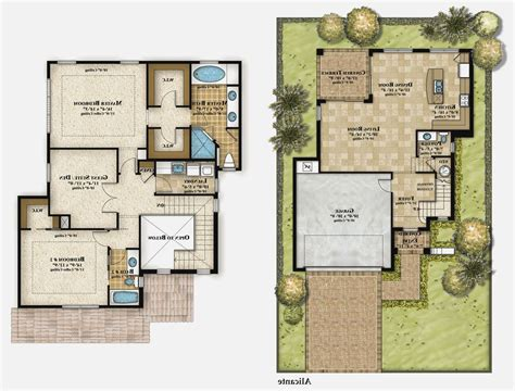 story modern house plans home designs design house plans