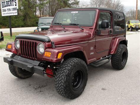 jeep sahara maroon jeep wrangler sahara stk 919 gilbert jeeps and 4x4 s