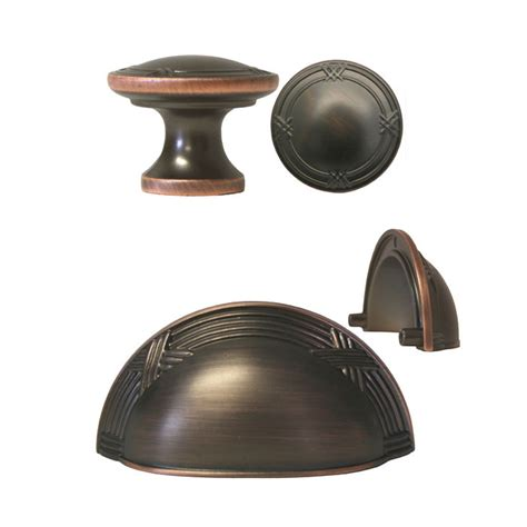 rubbed bronze ribbon reed kitchen cabinet drawer