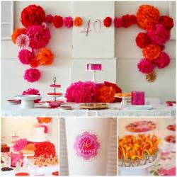 dekoration 40 geburtstag 40th birthday idea