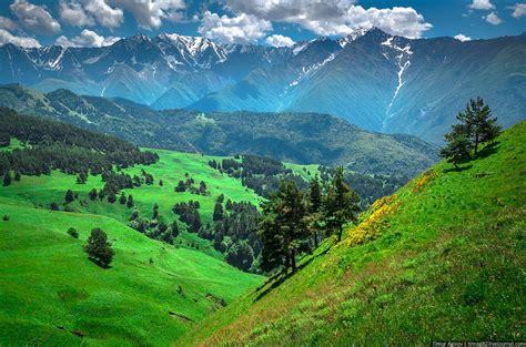 russian mountain the beautiful scenery of the mountain ingushetia 183 russia travel