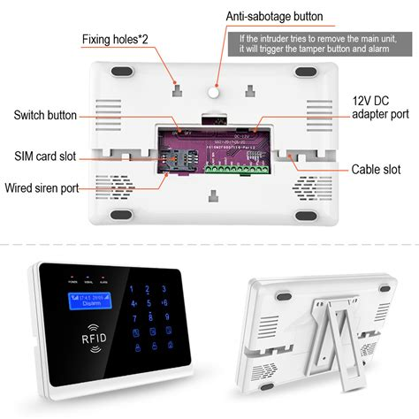 wifi security alarm wifi home alarm sytems wifi burglar