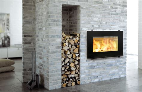 fireplace wood modern wood fireplace and stove