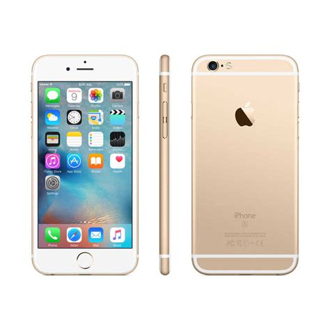 new apple iphone 6s 16gb at t locked gold smartphone 888462500159 ebay