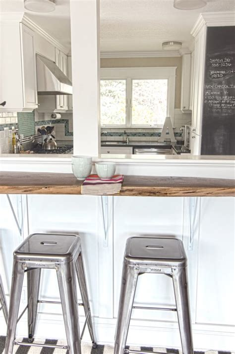 Kitchen Half Wall Ideas by 13 Affordable Half Wall In Kitchen For Breakfast Bar Idea