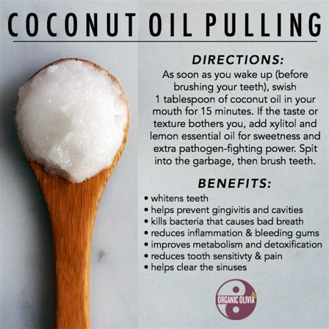Coconut Pulling Detox Side Effects by Coconut Pulling Benefits Organic Organic