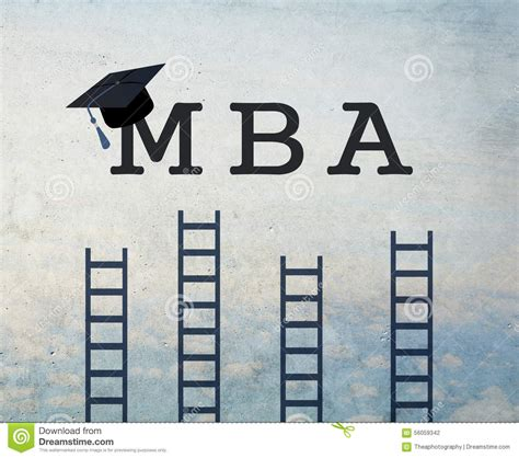 Upon Graduation From The Mba Program by Mba Stock Illustration Image 56059342