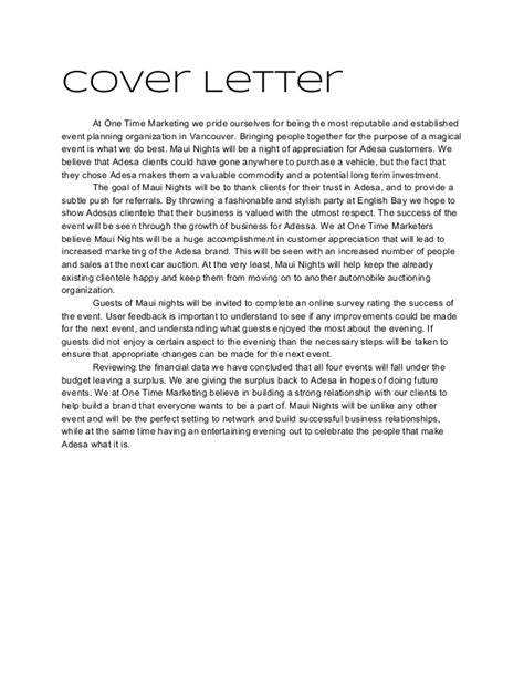 corporate event coordinator cover letter euthanasiapaper