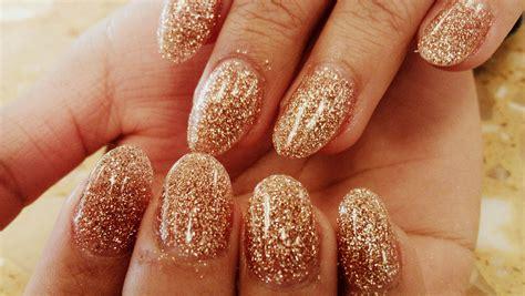 Nails Glitter 30 gold glittery nail designs godfather style
