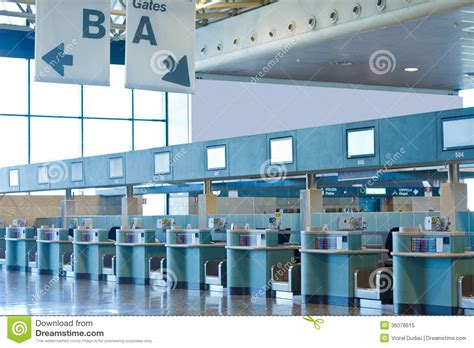 check in desk sign airport check in desks stock image image of international