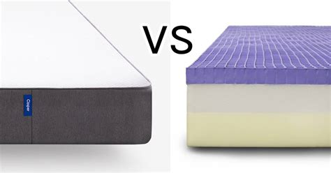 Mattress Vs by Mattress Clarity Casper Vs Purple Mattress