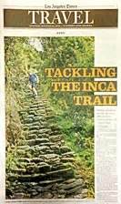 los angeles times travel section accounts articles and stories about trekking running