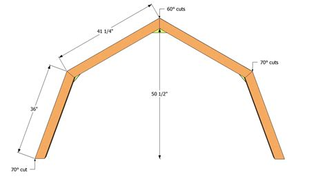Shed Roof Truss by Gambrel Roof Storage Shed Plans Free Woodguides