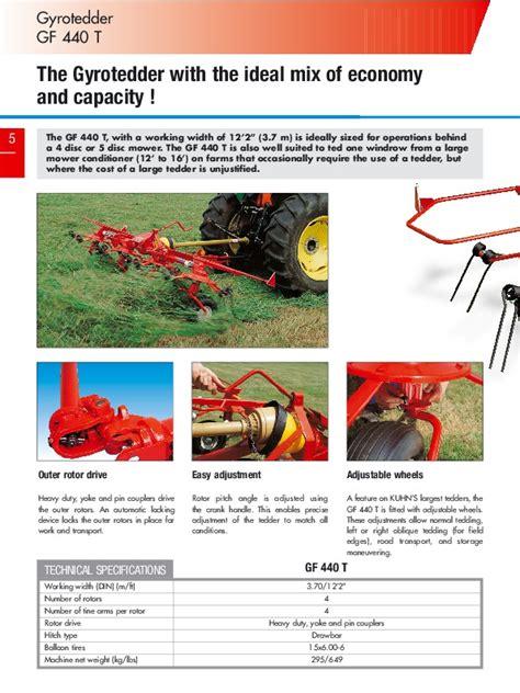 Kuhn Gyrotedders GF 5202 GF 7802 GF 13002 GF 17002