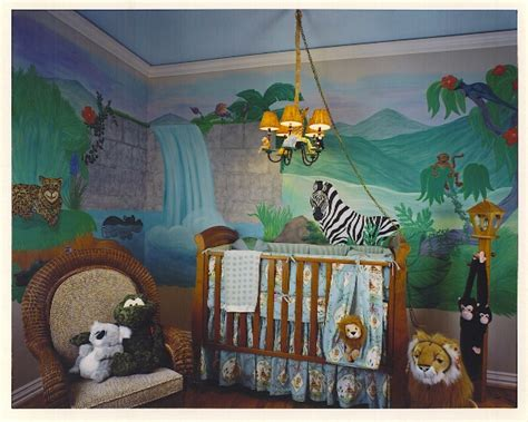 Jungle Themed Nursery Decor Baby Nursery Themes Best Baby Decoration